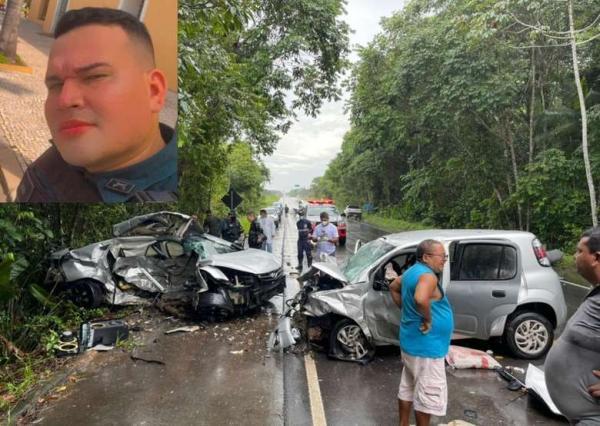 Policial militar morre em grave acidente próximo a Nova Timboteua