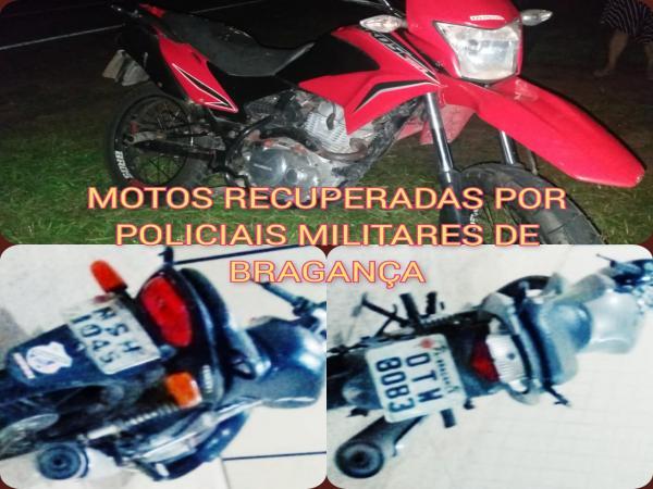 Em dois dias, policiais militares recuperam três motocicletas roubadas em Bragança